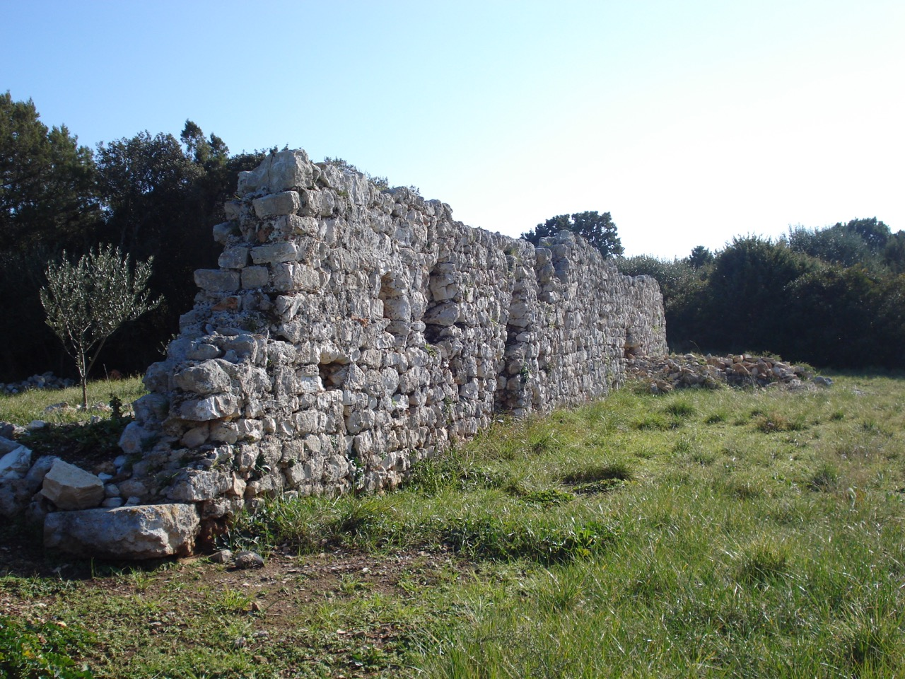 Ostaci rimske vile / The remains of a Roman villa